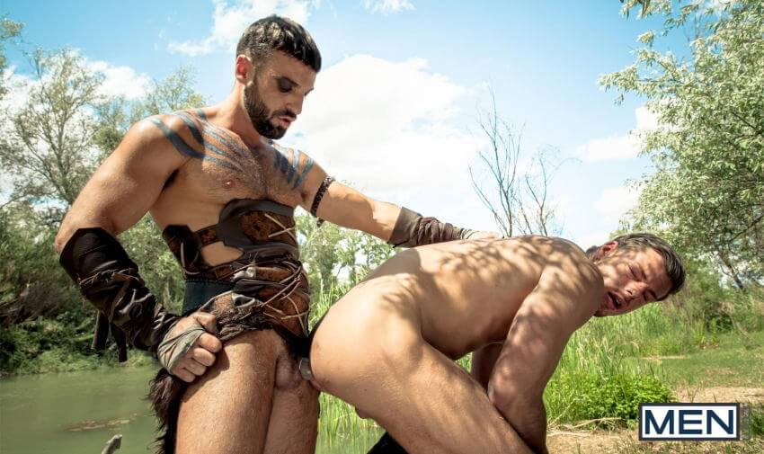 Gay of Thrones Abraham Al Malek Toby Dutch fucking