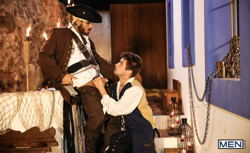 Pirates Gay Porn diego sans johnny rapid sucking